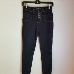 Elite Jeans High Waisted Crop Jeans